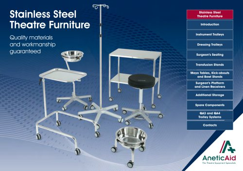 Stainless Steel Theatre Furniture