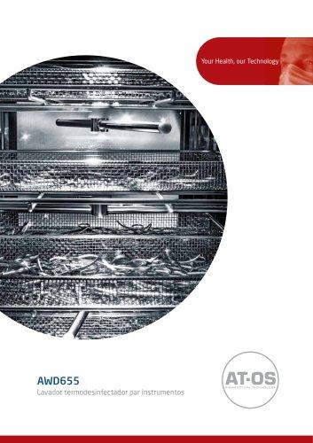 AWD655 Lavador desinfectante de instrumentos
