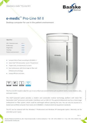 e-medic Pro-Line M II