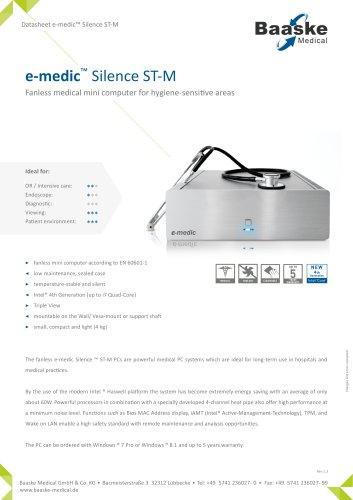 e-medic Silence ST-M