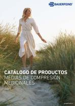 CATÁLOGO DE PRODUCTOS MEDIAS DE COMPRESIÓN MEDICINALES