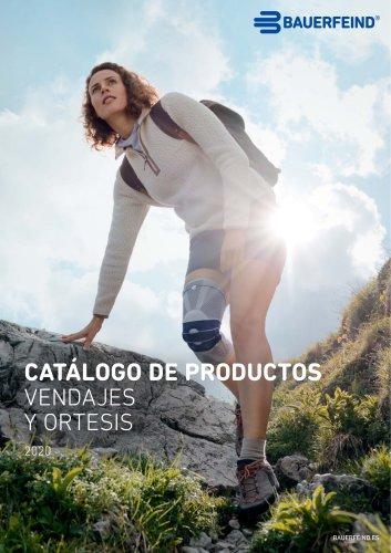 CATÁLOGO DE PRODUCTOS VENDAJES Y ORTESIS 2020