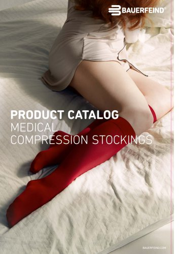 PRODUCT CATALOG MEDICAL COMPRESSION STOCKINGS
