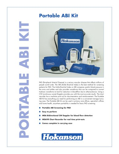 Portable ABI Kit Brochure