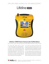 Lifeline VIEW AED Specification Sheet