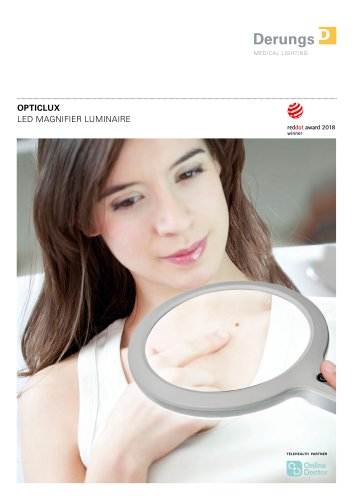 LED MAGNIFIER LUMINAIRE OPTICLUX