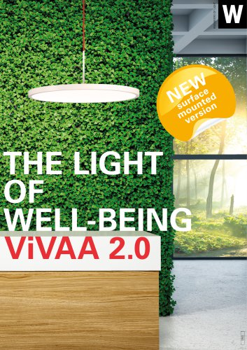 THE LIGHT OF WELL-BEING ViVAA 2.0