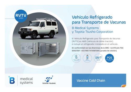 Vehículo Refrigerado para Transporte de Vacunas