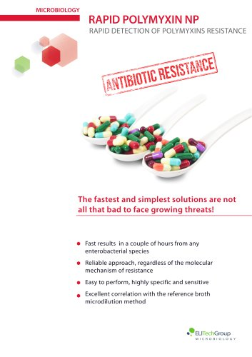 Rapid Detection of Resistance to Polymyxins
