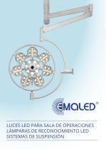 EMA-LED GmbH, Luces para sala de operaciones, Lámparas de reconocimiento, Sistemas de suspensión