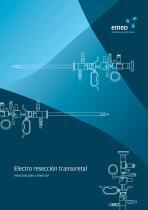 Electro resección transuretal resectoscopio universal
