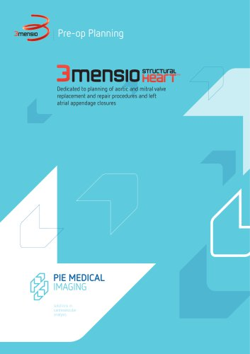 3mensio CT - Structural Heart - Brochure