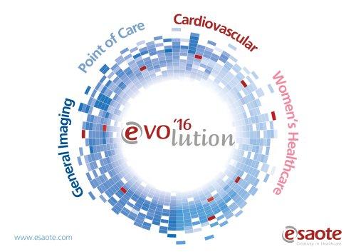 EVOlution'16 in Ultrasound Technology - MyLab(TM)Seven, MyLab(TM)Six, MyLab(TM)Alpha, MyLab(TM)Gamma