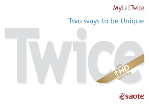 MyLab™Twice eHD Technology - Brochure