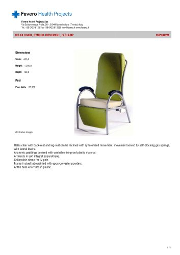 Fixed height Basic medical chair:9SP0042M