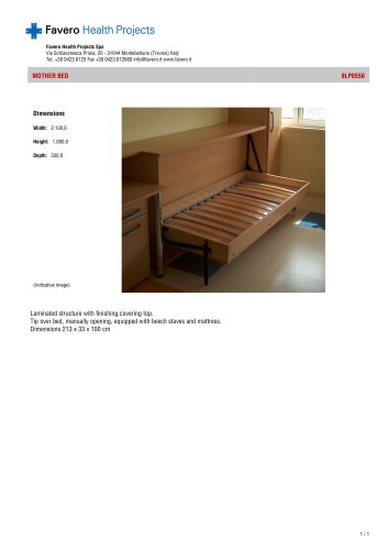 MOTHER BED  9LP0550