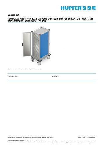 ISOBOX® Mobil Flex 1/16 75