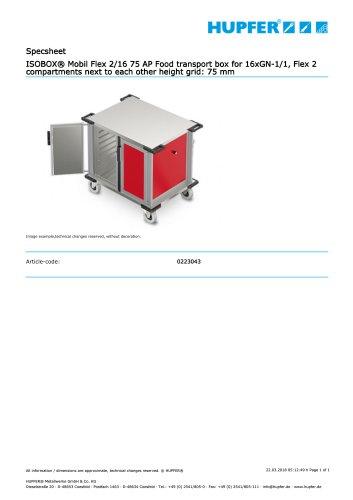 ISOBOX® Mobil Flex 2/16 75 AP