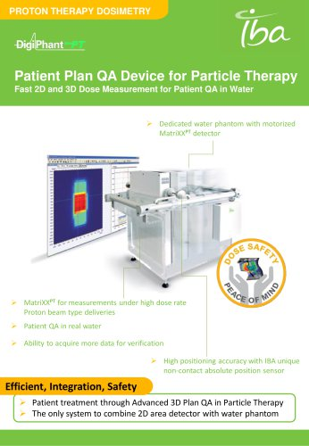 DigiPhant PT: Patient Plan QA Device for Particle Therapy