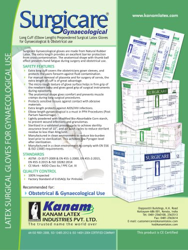 Surgicare 20Gynaecological