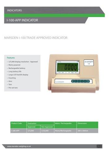 I-100-APP Platform Scale
