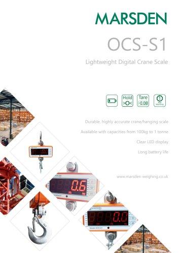 Marsden OCS-S1 Crane Scale