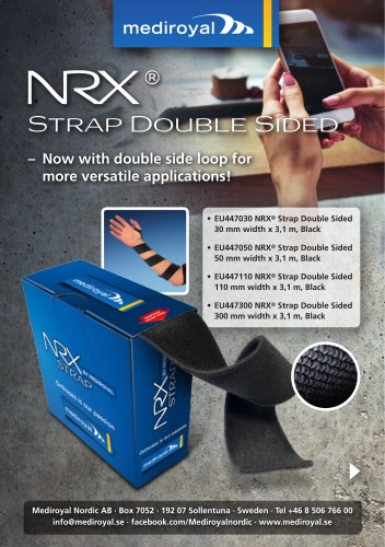 Now with double side loop for more versatile applications!