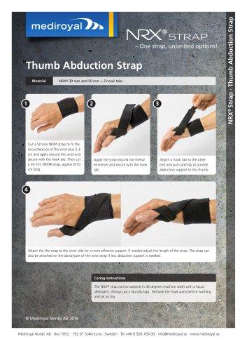 Thumb Abduction Strap