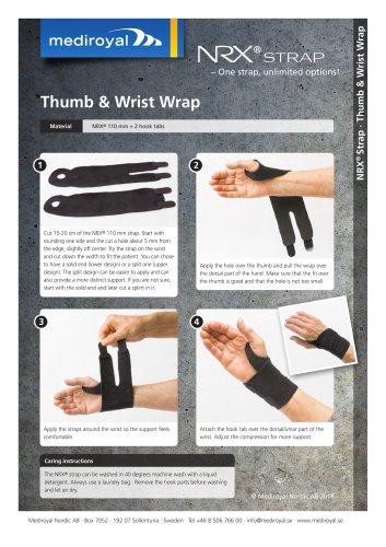 Thumb & Wrist Wrap