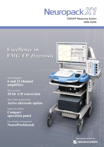 MEB-2300 Neuropack X1 EP/EMG Measuring System
