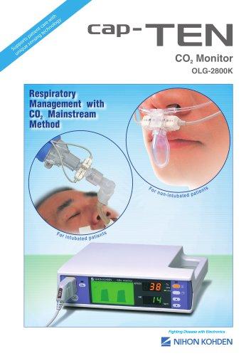 OLG-2800K cap-TEN CO2 Monitor