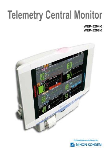 WEP-5204K, WEP-5208K Telemetry Central Monitor