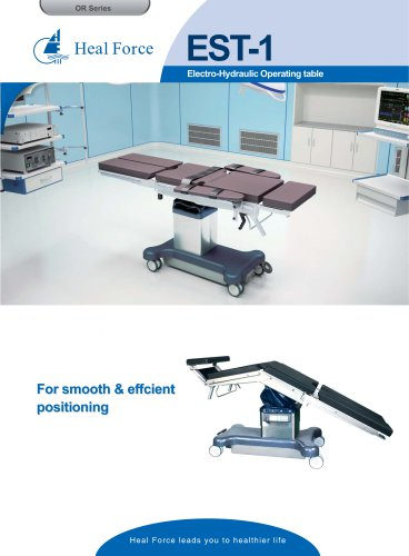 EST-1 Electro-Hydraulic Operating table