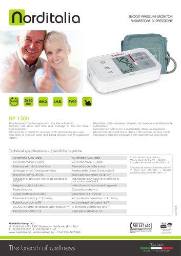 Blood pressure monitors BP-1400 BP-1300