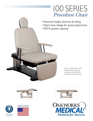 Oakworks 100 Series Procedure Chair