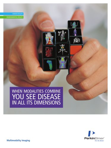 3D Multimodal Imaging: When modalities combine you see disease in all its dimensions