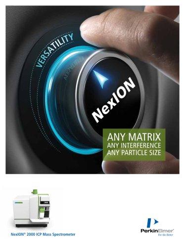 NexION® 2000 ICP Mass Spectrometer
