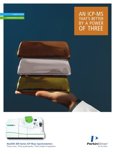 NexION 300 ICP-MS Brochure