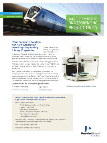NGS Express Automated Liquid Handling Workstation