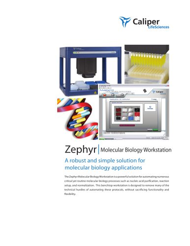 Zephyr Molecular Biology Workstation Brochure