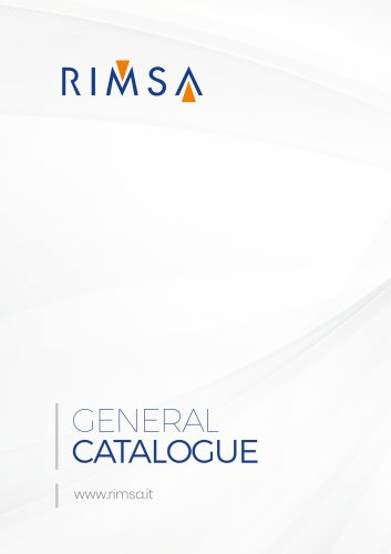 GENERAL CATALOGUE