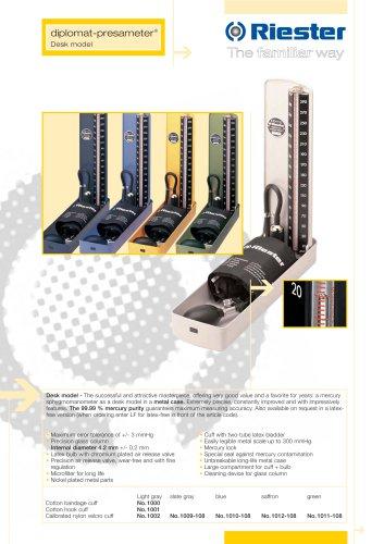diplomat-presameter® - Desk model
