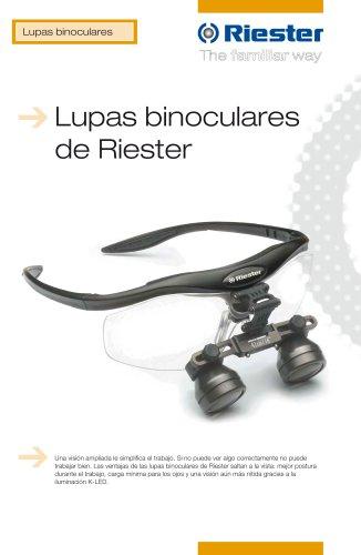 Lupas binoculares de Riester