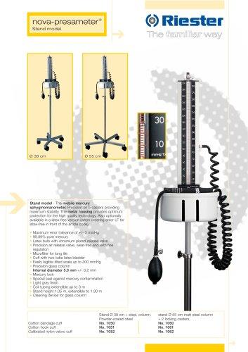 nova-presameter® Stand model