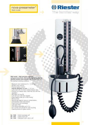 nova-presameter® Wall model