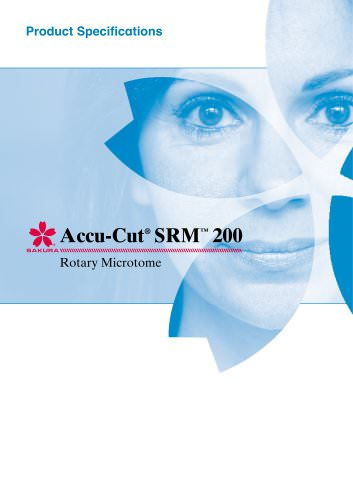 Product Specifications Accu-Cut SRM 200