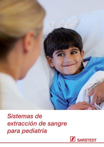 Sistemas de extracción de sangre para pediatría