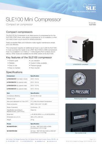 SLE100 Mini Compressor