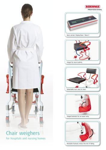 """7771 Chair weigher """"Comfort"""", approved"""