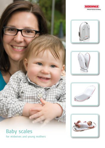8320 Baby scale with fold function